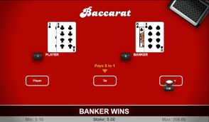 RNG Baccarat by 1x2 Gaming at 22Bet Casino