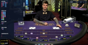 Lucky Streak Live Baccarat at 22Bet Casino