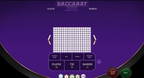 Baccarat Supreme by OneTouch at 22Bet Casino