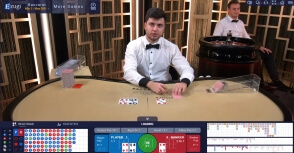 22Bet Casino Features Ezugi Baccarat Tables