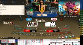 Gameplay Live Baccarat at 22Bet Casino
