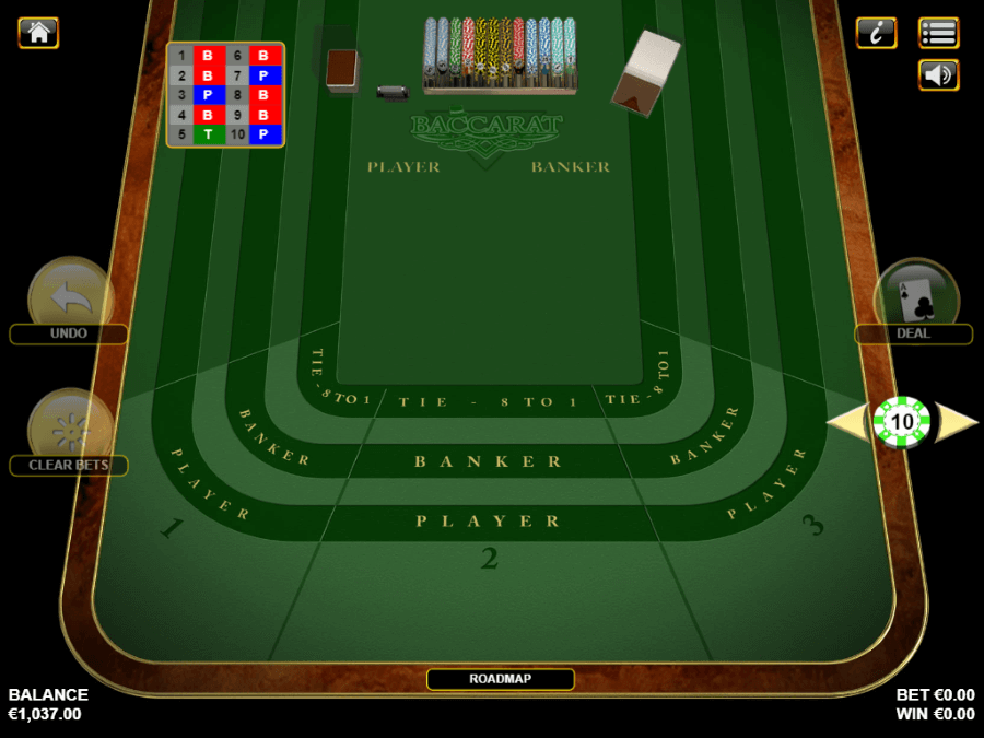 Casino-X RNG American Baccarat