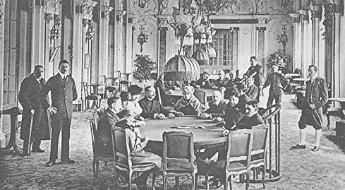 baccarat hall - old times