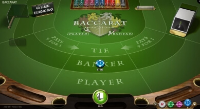 Baccarat Pro Offers Standard Bets