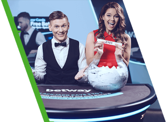 There are 12 baccarat tables at Betway's Live Casino Lobby