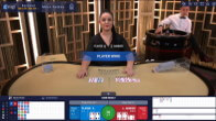 Live Baccarat Gold by Ezugi at BetWinner Casino