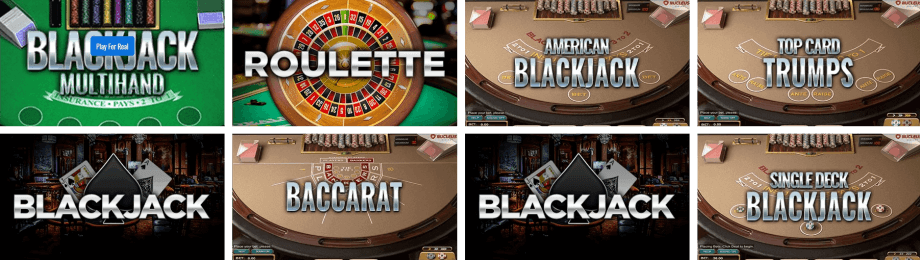 Table Games Selection at Big Spin Casino