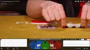 Evolution Control Squeeze Baccarat at Casino Cruise
