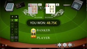 Play iSoftBet Baccarat at Casino Cruise