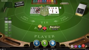 NetEnt's Baccarat Is One of Casino Gods' Many Table Games