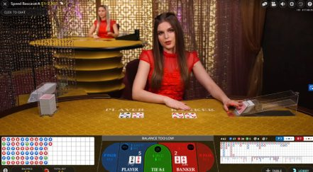Speed Baccarat by Evolution Gaming at Casino Gods
