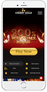 Cherry Gold is well optimized for mobile casino gaming