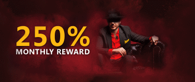 Monthly rewards at DomGame Casino