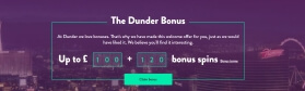 Free Spins and Welcome Deposit Bonus at Dunder Casino