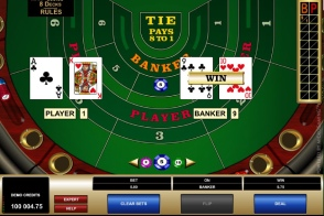 High Limit Baccarat by Microgaming at Genesis Casino
