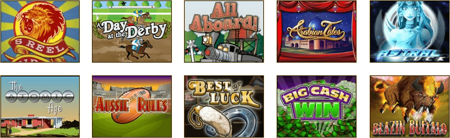 The impressive range of slot titles at Golden Lion