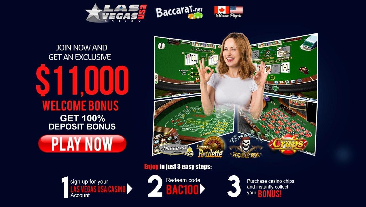 Las Vegas Usa Casino Review Baccarat Games And Daily Bonuses
