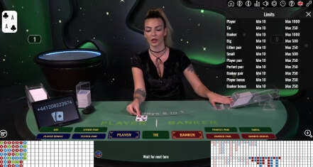 Vivo Gaming Live Baccarat at MaChance Casino