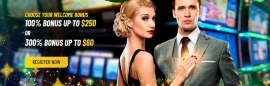 MaChance Casino Welcome Bonus