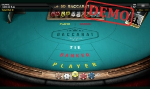 3D Baccarat by Iron Dog Studio at MELbet Casino