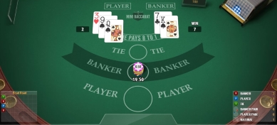 Mini Baccarat Rebetting Options