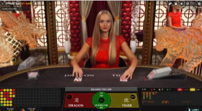 Live Dragon Tiger at No Bonus Casino