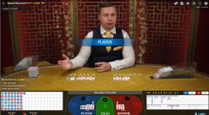 Live Speed Baccarat at No Bonus Casino