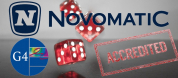 NOVOMATIC with G4 certification