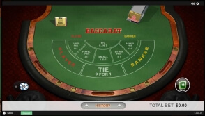 Playtech RNG Baccarat at Play Amo Casino