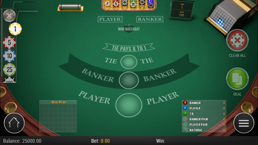 Play Free Baccarat Online