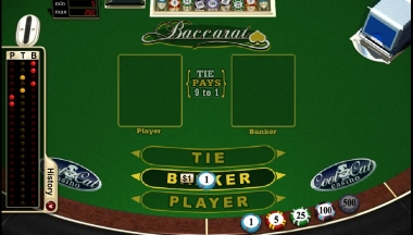Placing Bets and Playing Realtime Baccarat