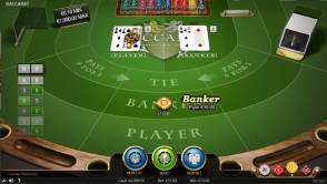Play NetEnt's Baccarat Pro at Spela Casino