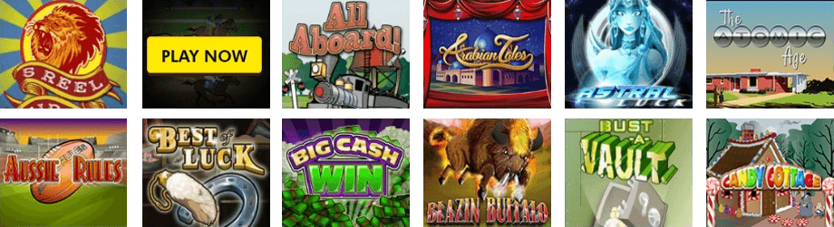 The Slots Selection at Supernova Casino Is Powered by Rival