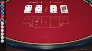 Switch Studios Baccarat at Wishmaker Casino